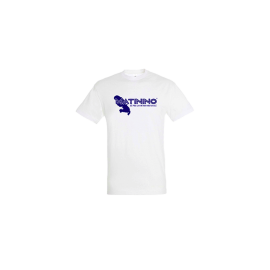 T-shirt homme col rond blanc